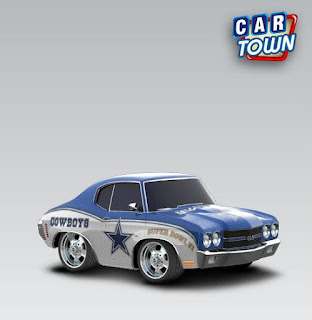 Chevrolet Chevelle SS 454 1970 Dallas Cowboys