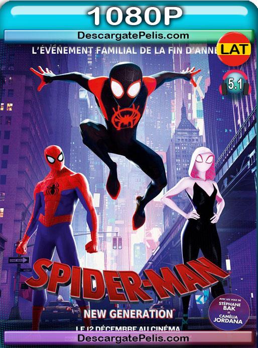 Spider-Man Un nuevo universo (2018) 1080P BRrip Latino – Ingles