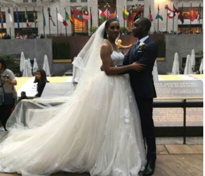 Check In To See Beautiful Photos From White Wedding Of Son Of Former Ekiti Governor, Niyi Adebayo In New York