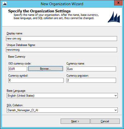 Handling CRM 2016 organizations (and a tuning tip