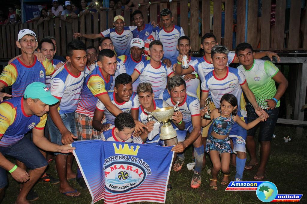 Princesa de Óbidos é a grande campeã da 1ª Copa Farmácia Vitória na Comunidade Trindade.