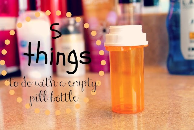 the beauty blog 5 things to do with a empty pill bottle. Black Bedroom Furniture Sets. Home Design Ideas