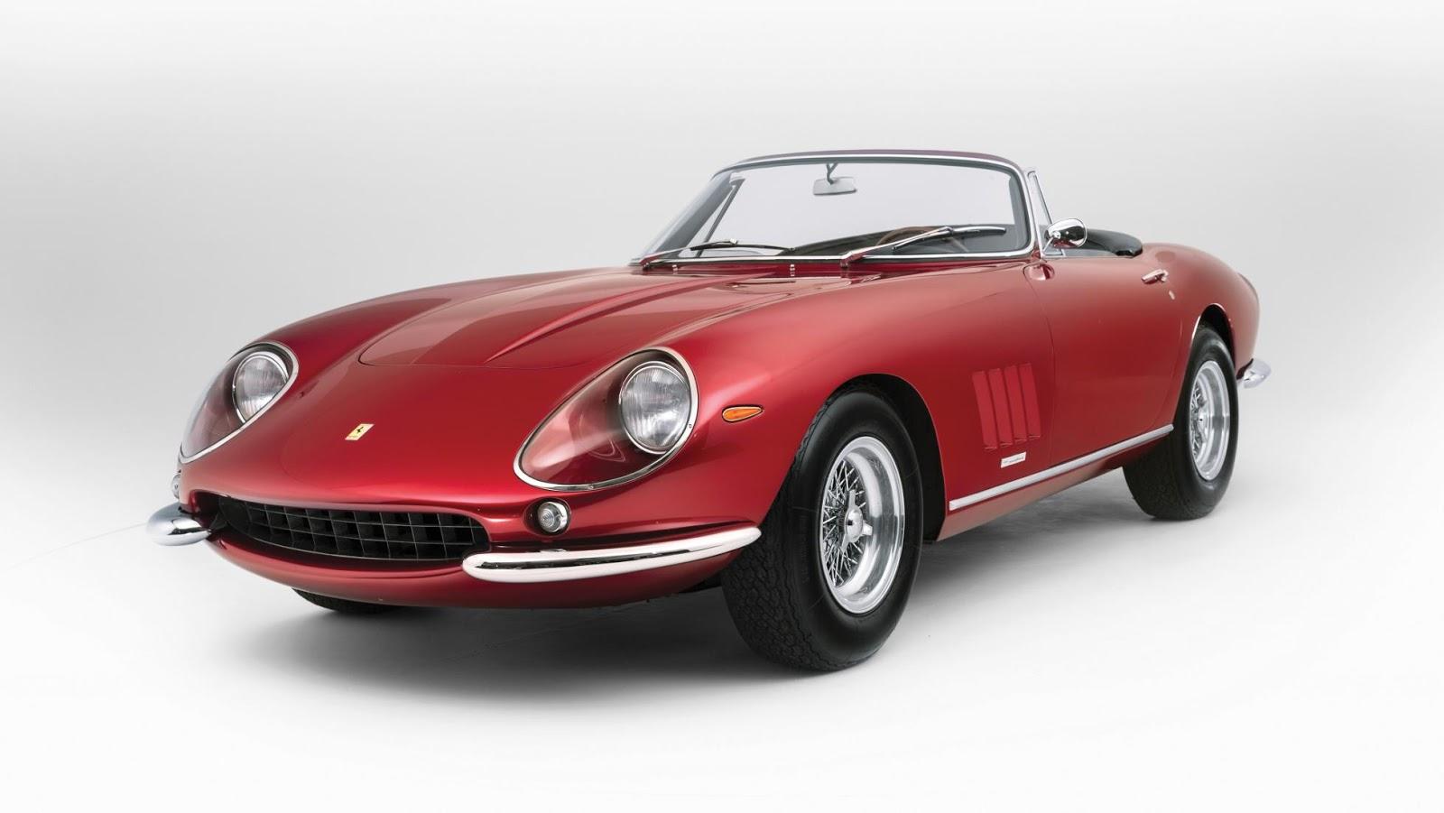 Ferrari 275 Spider Nart - Dòng xe huyền thoại của Ferrari đã không được bán đấu giá thành công đợt này