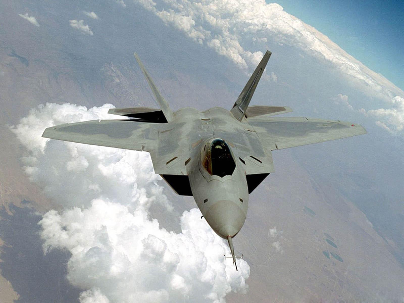 Wallpapers f 22 raptor military jet fighter wallpapers - Jet wallpaper ...