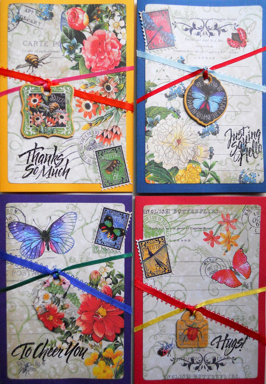 FotoBella: Graphic 45 (Flutter) Cards
