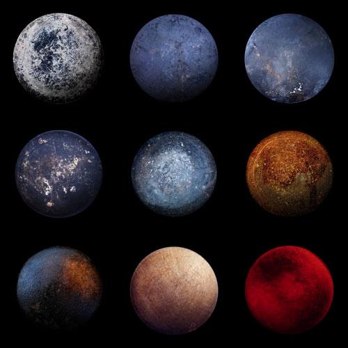 pencil drawn planets - photo #46