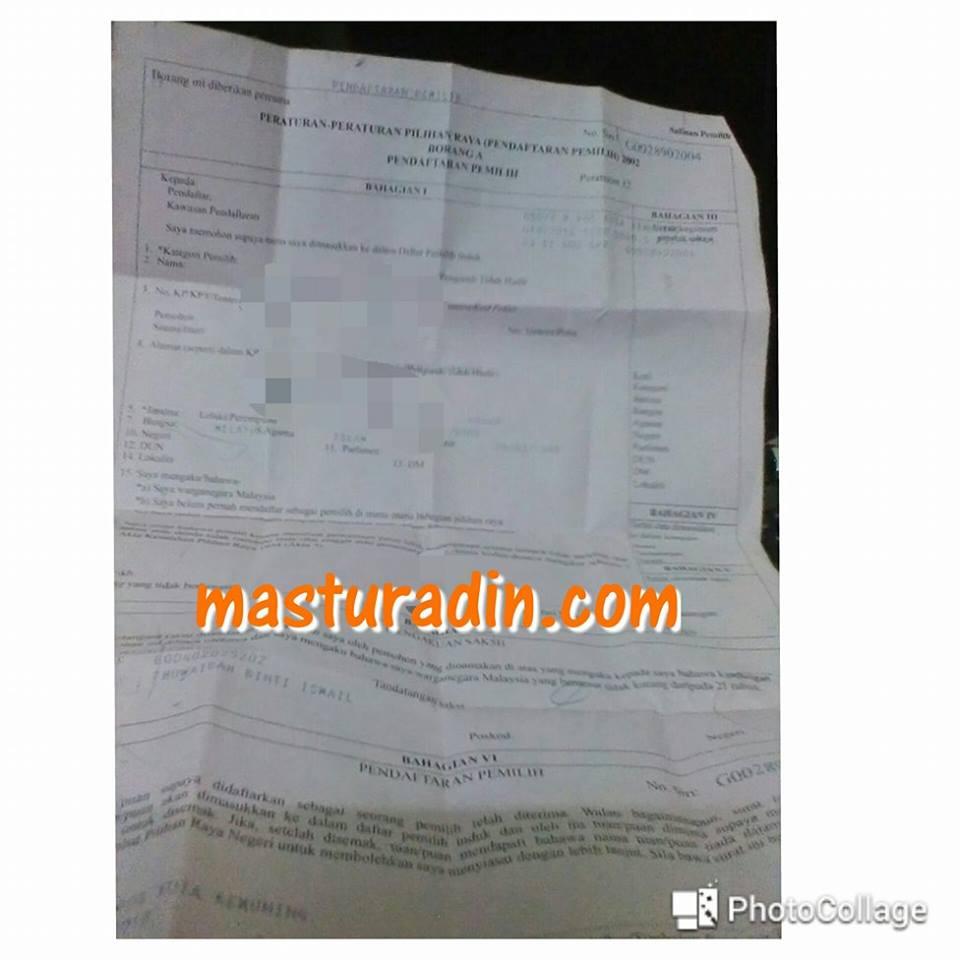 syarat kelayakan untuk mendaftar sebagai pemilih, pengundi, suruhanjaya pilihan raya, cara-cara mendaftar sebagai pengundi, pemilih, tempat mendaftar
