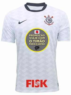 1490d0296e Para a temporada 2013 a Diretoria do Timão fechou com a Caixa Econômica  Federal o patrocínio do manto alvinegro. Por R  31 milhões de reais o Banco  Estatal ...