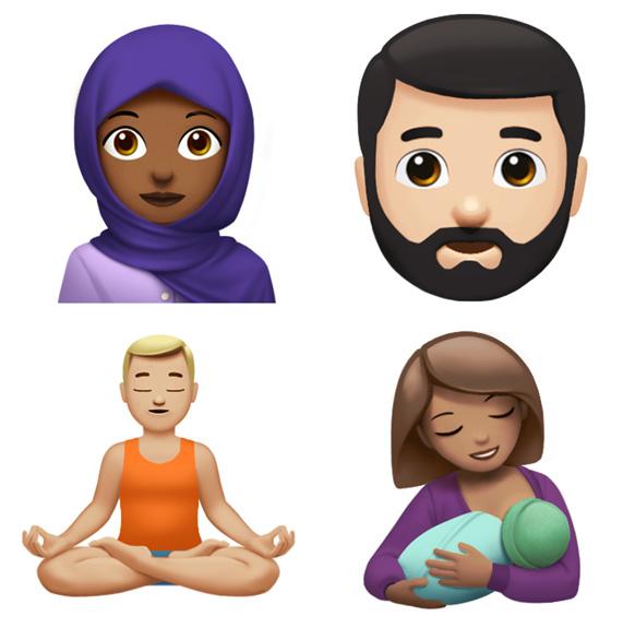 Apple divulga alguns novos Emoji que chegarão ao iOS 11