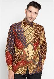 model baju batik pria modern Terbaru