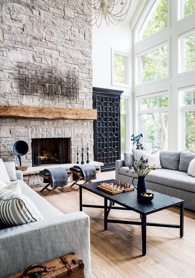 Mix And Chic An Effortlessly Rustic And Refined Family