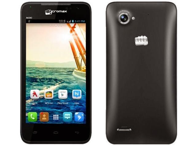 Micromax Canvas Duet AE90 Dual SIM Smart Phone