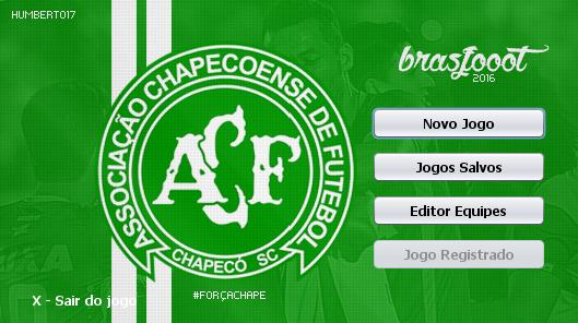 Skin Chapecoense para Brasfoot 2016