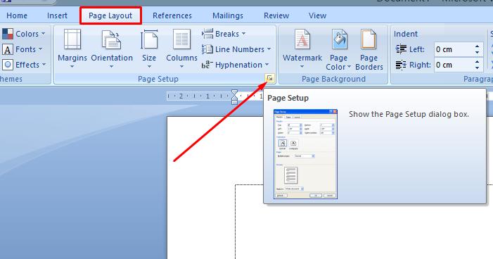 Cara Mengganti JenisUkuran Kertas di MS Word  Espada Blog