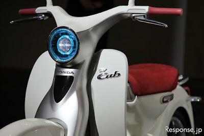 Honda hi-tech concept d'esposizione o veicolo di serie?