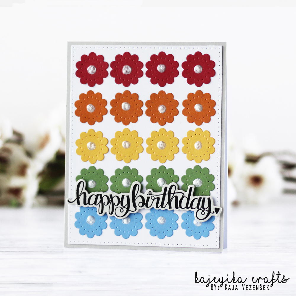 Rainbow of flowers | Spellbinders