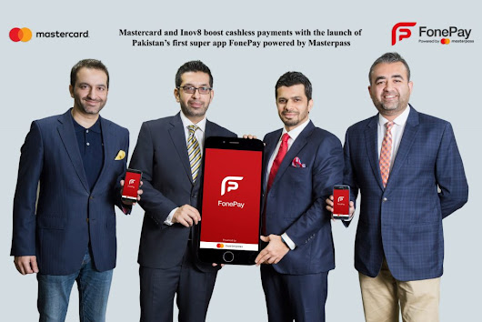 Mastercard and Inov8 launch Pakistan's first super app 'FonePay'