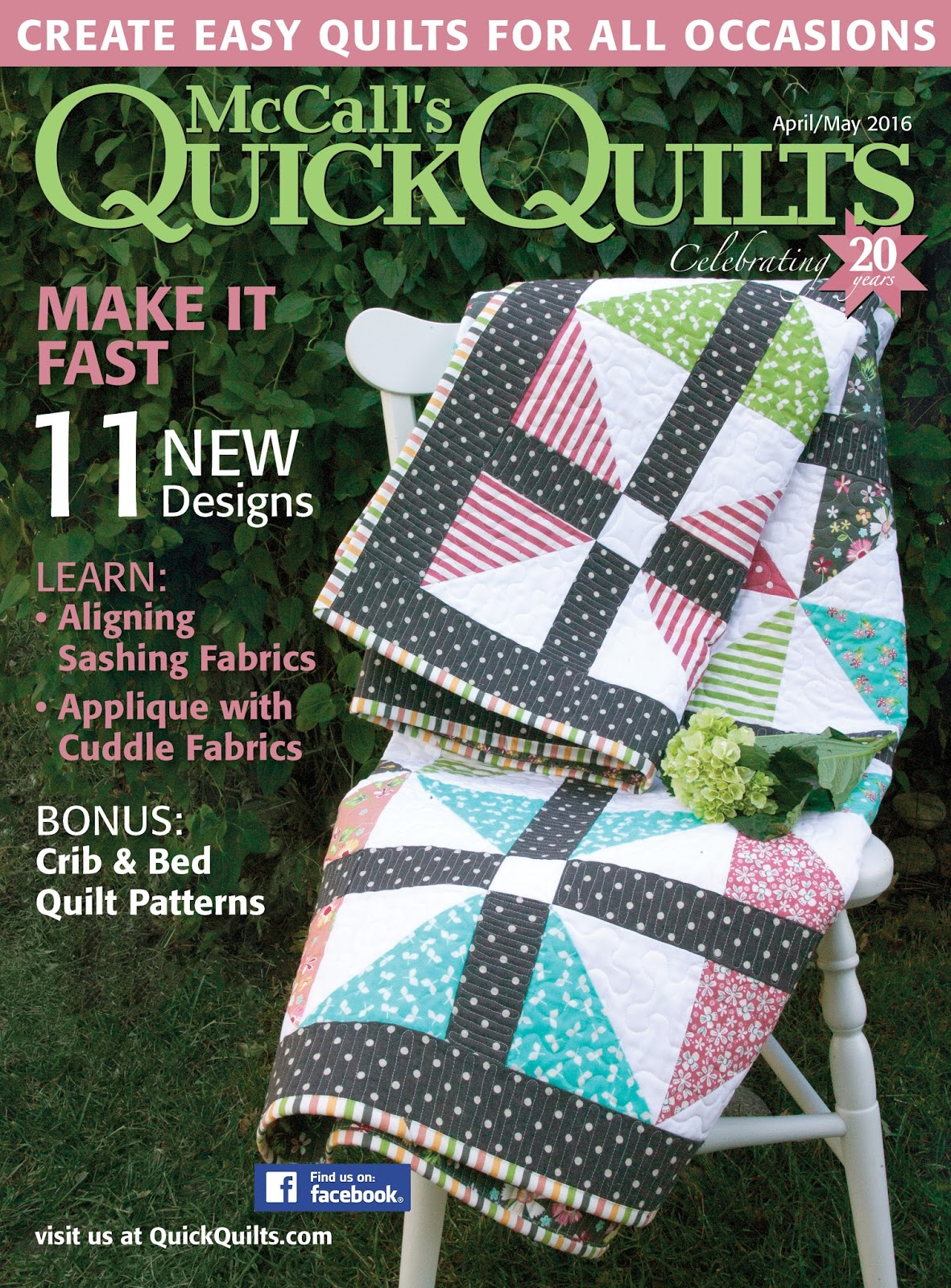 quilts big blocks chapel fox quilt publishing quick