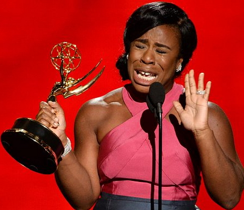 uzo aduba crying