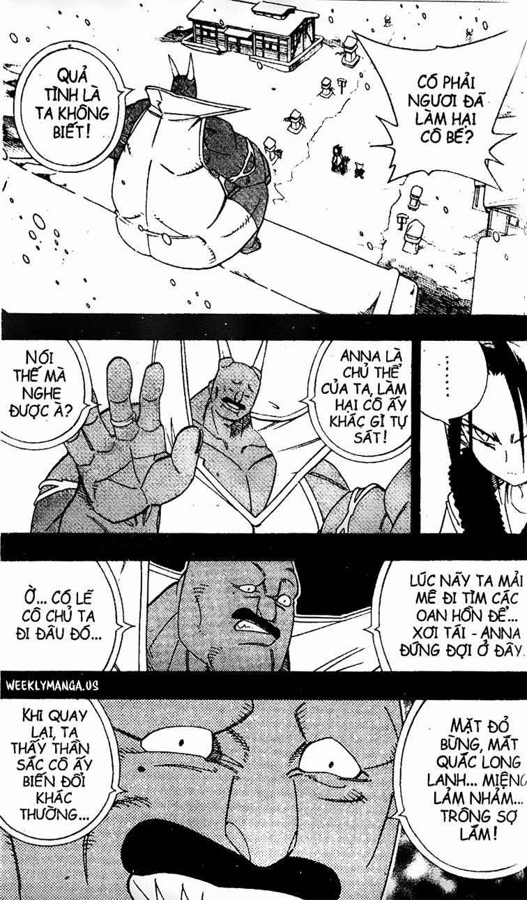 Shaman King [Vua pháp thuật] chap 174 trang 19