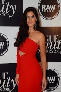 Katrina Kaif at Vogue Beauty Awards 2016