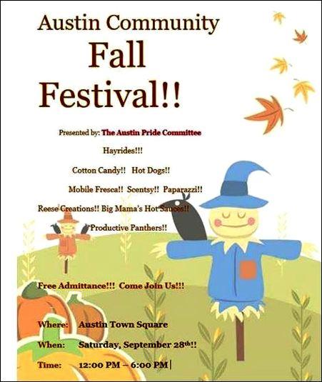 9-28 Austin Fall Festival