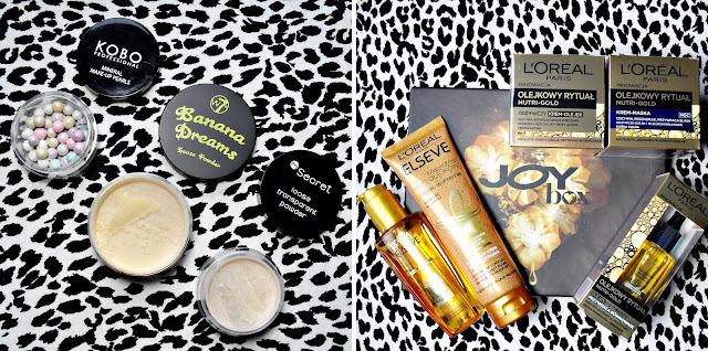 Nowości i zakupy | dziesięć (!) szamponów, trzy pudry i nowe pudełko JoyBox
