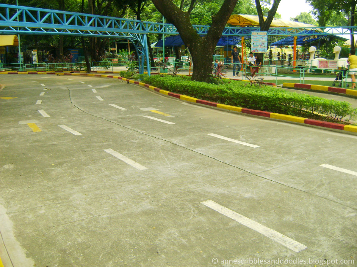 Quezon Memorial Circle: Racetrack | Anne's Scribbles and Doodles