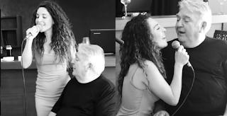 Κλαίμε από συγκίνηση! Μια σπάνια εμφάνιση! Ο Πασχάλης Τερζής τραγουδάει με την κόρη του και μας συγκινεί!