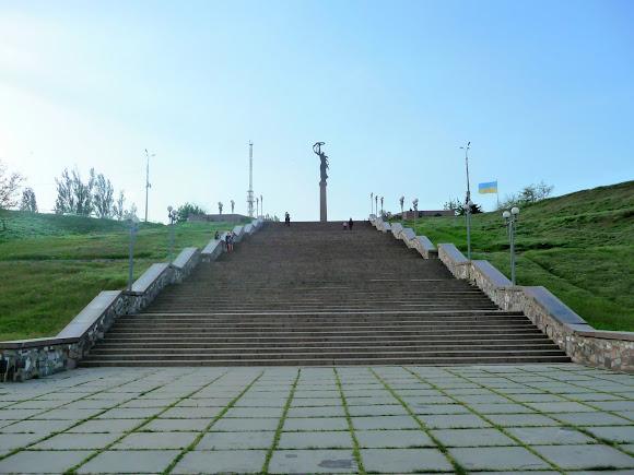 Херсон. Парк Славы. Лестница