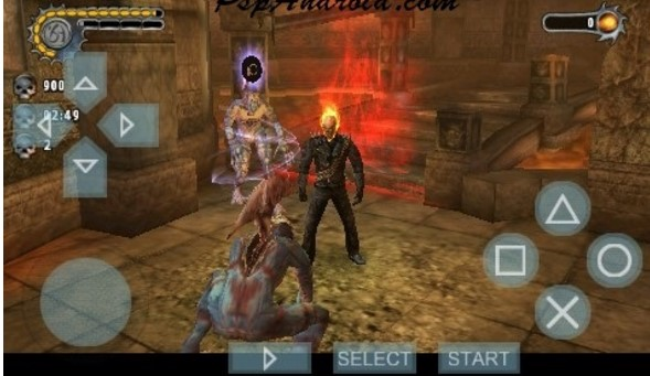 Ghost Rider PPSSPP