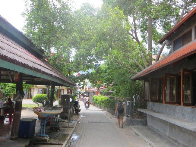 Узкая улица тао