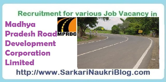 Naukri Job vacancy MPRDCL