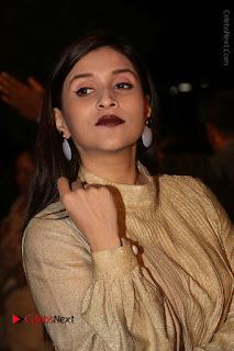 Actress Mannara Chopra Stills in Cream Colour Long Dress at Gemini TV Puraskaralu 2016 Event  0008.JPG