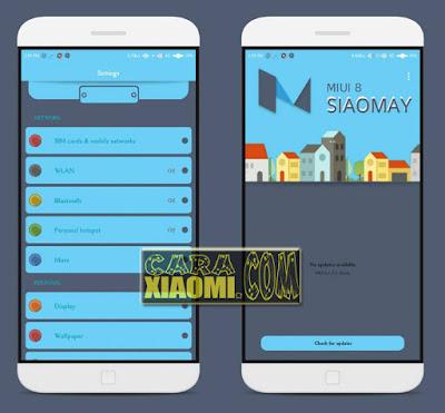 Download Tema MIUI Mod Fab Fab Blue Mtz Themes For Xiaomi Terbaru