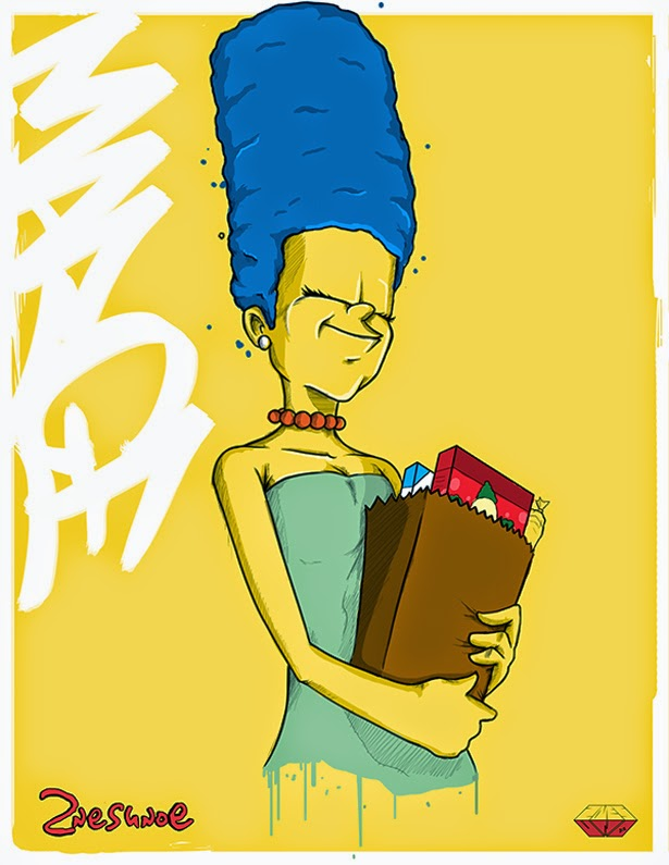 Marge Simpson by 2NES UNOe