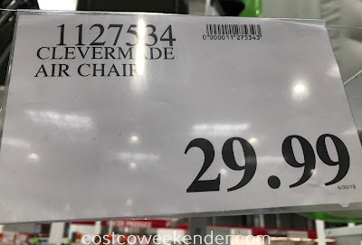 Deal for the ClevrMade QuikFill AirChair at Costco