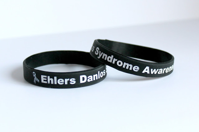 Ehlers Danlos Syndrome EDS Awareness Bracelets