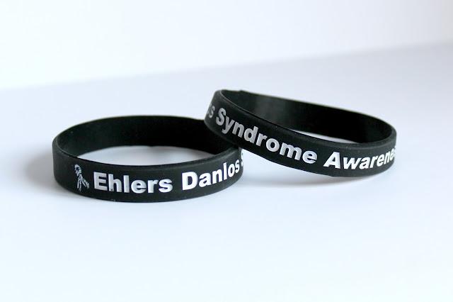 Ehlers Danlos Syndrome EDS Awareness Bracelets