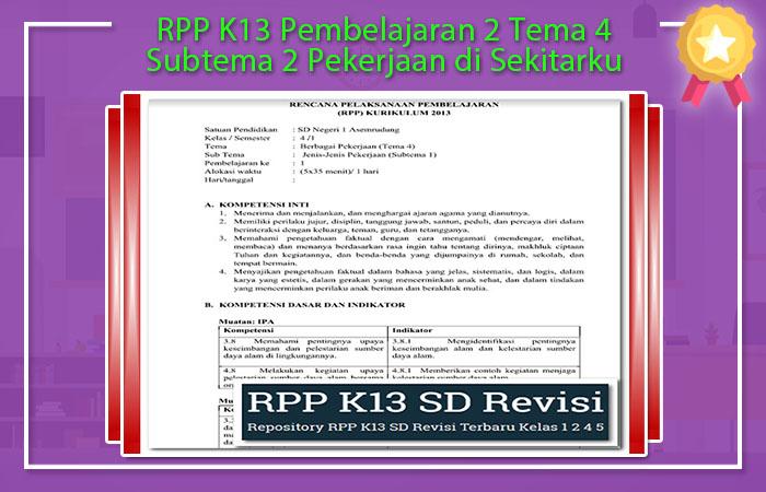 Pembelajaran 6 Tema 4 Subtema 2 Pekerjaan di Sekitarku