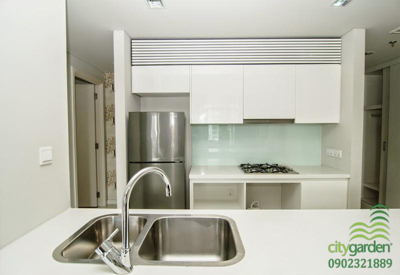 không gian bếp căn hộ cần cho thuê tại city garden