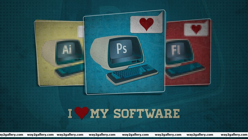 Software love wallpaper