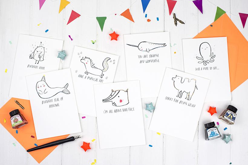 Louise Wright Illustrator - interview feature on Adventures & Tea Parties' blog