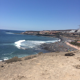 Tenerife, coast, coastal, beach, sea