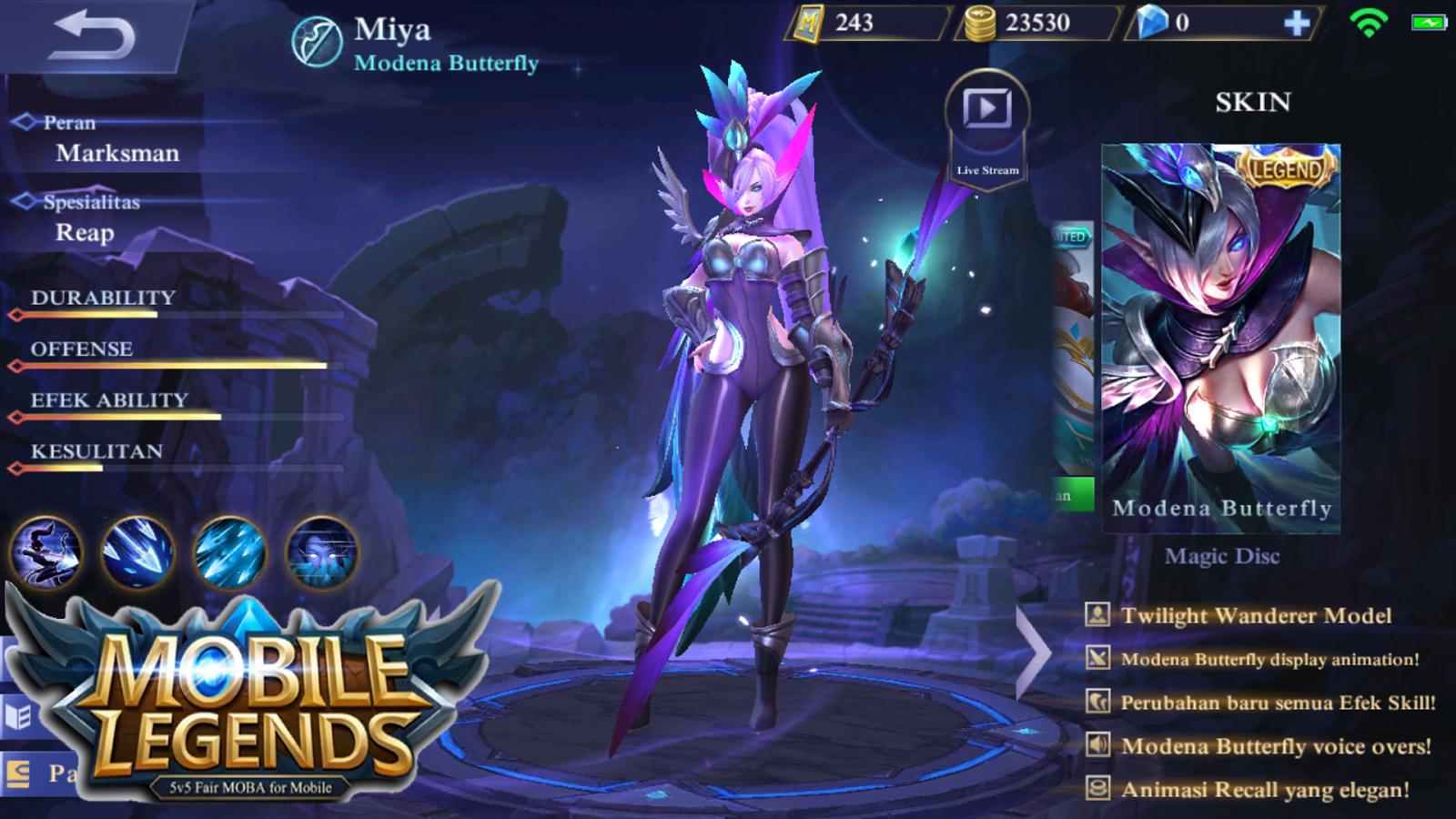500 Gambar Hero Mobile Legend Miya Terbaru