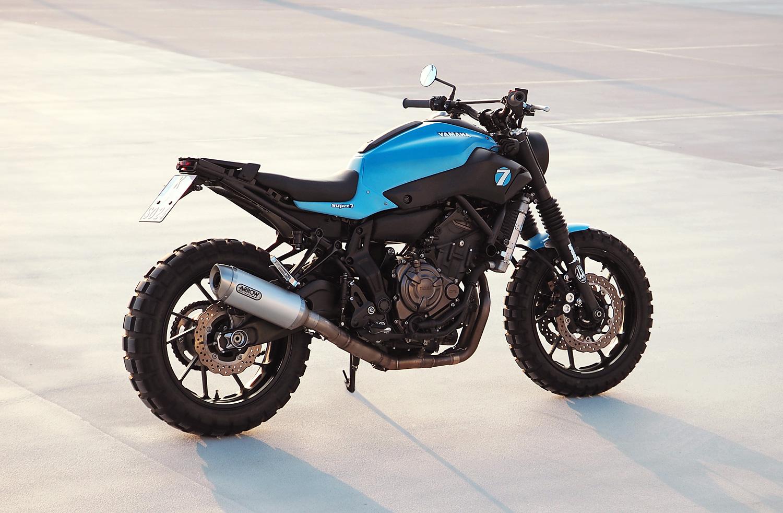 """Honda N S X >> Racing Cafè: Yamaha MT """"Super 7"""" by JvB-Moto"""