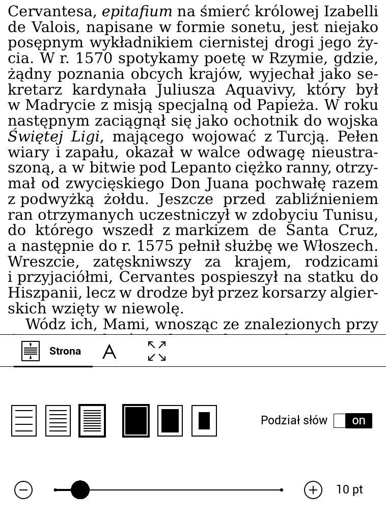 PocketBook Touch Lux 4 – najwęższe marginesy