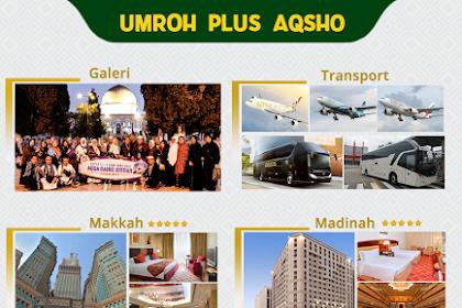 Biaya Paket Umroh Plus Aqso Maret 2020