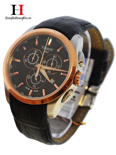 Đồng hồ đeo tay nam Tissot dây da bán chạy nhất 2016