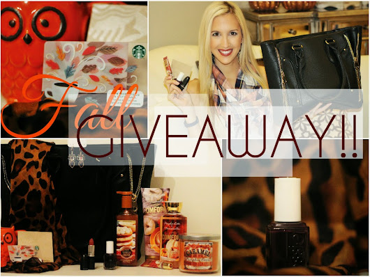 Fall GIVEAWAY!!